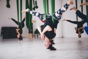 Aerial Yoga groepsles
