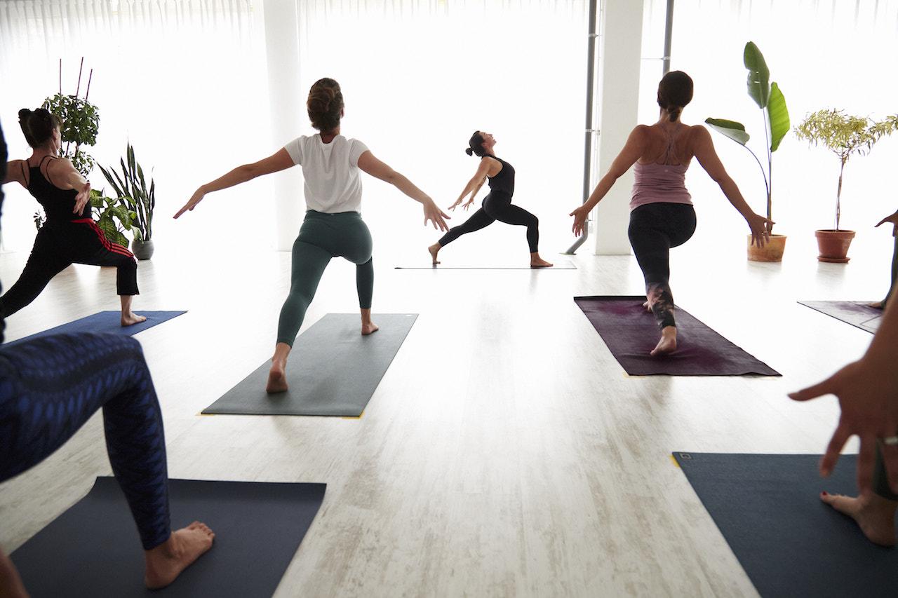 Yoga op 1,5 meter afstand