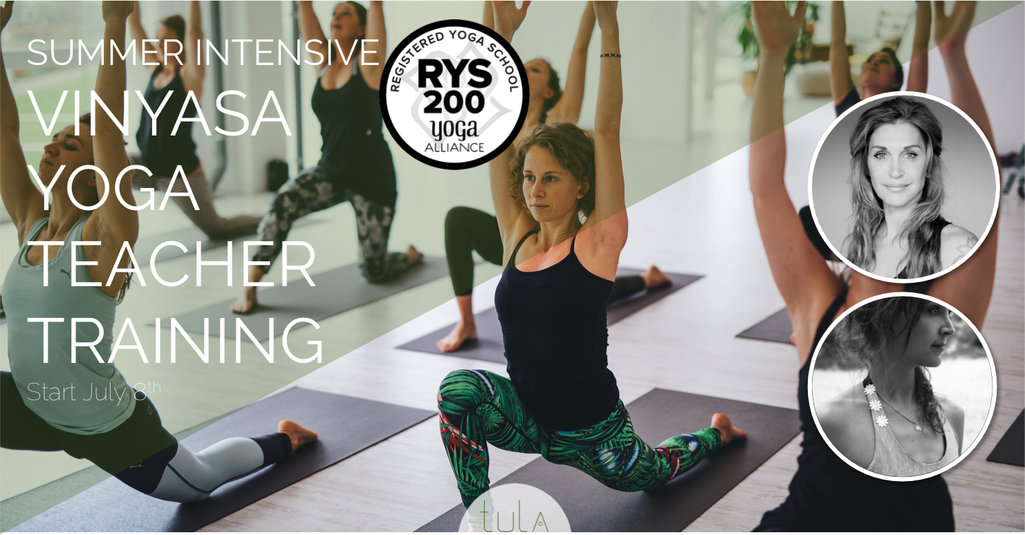 Summer intensive Vinyasa Teacher Training Amsterdam