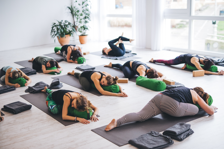 Ontspannen yoga in Amsterdam