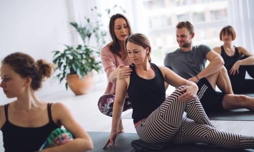 Join our Yin Yoga teacher training - mindfully created by our lead teacher Hellen van der Harten