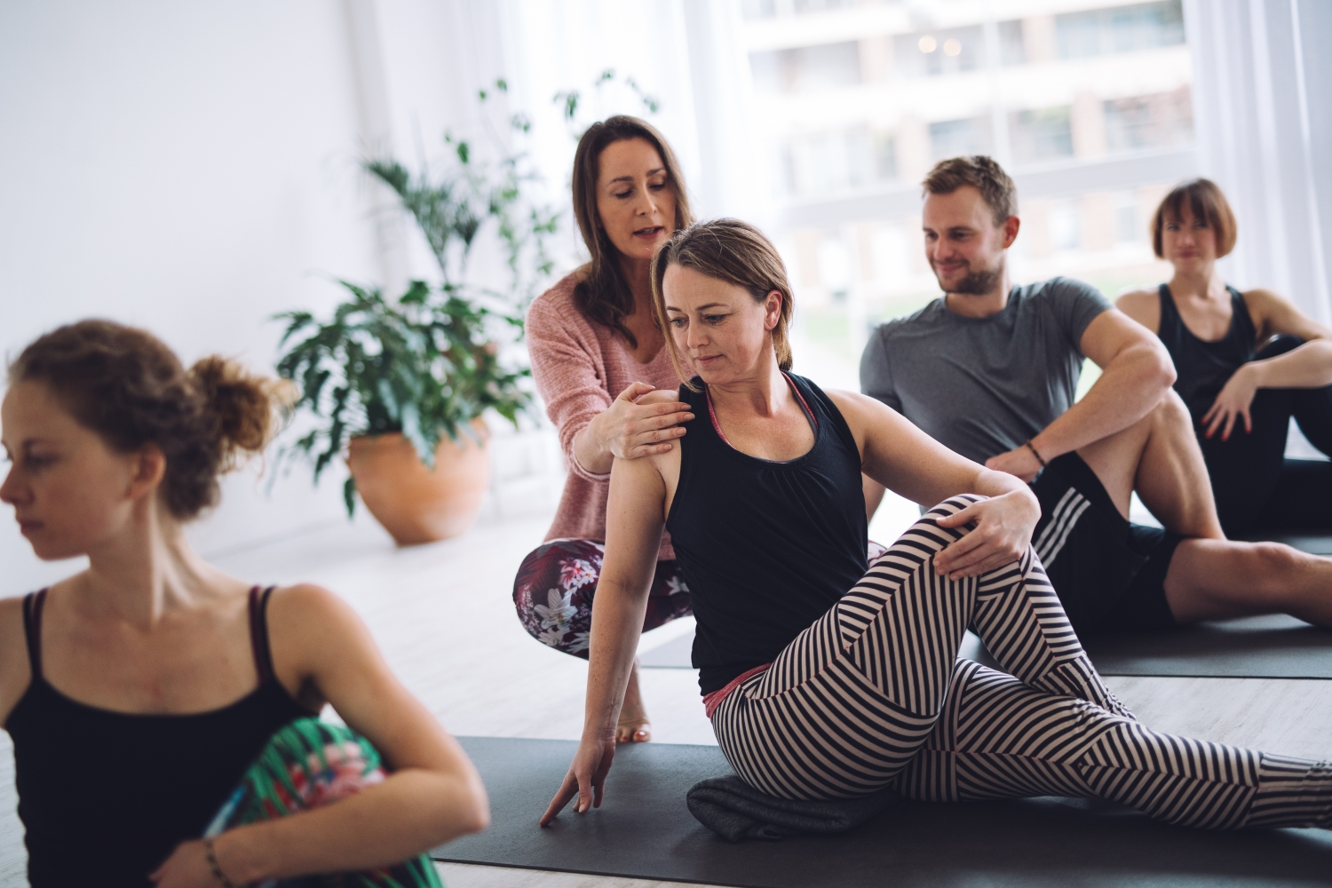 Join our Yin Yoga teacher training - mindfully created by our lead teacher Hellen van der Harten
