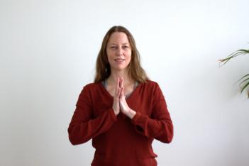 Eva de Hoijer - eigenaresse Tula Yoga Ede