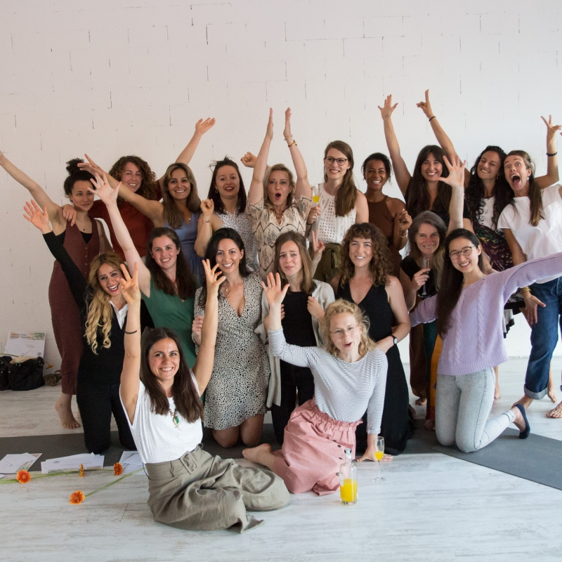 Graduates - Vinyasa Yoga Teacher Training 2019 - TULA Yoga Amsterdam