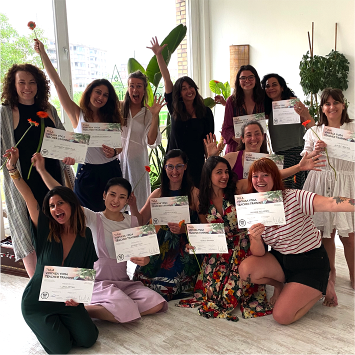 Graduation class of 2020 - Vinyasa Yoga Teacher Training