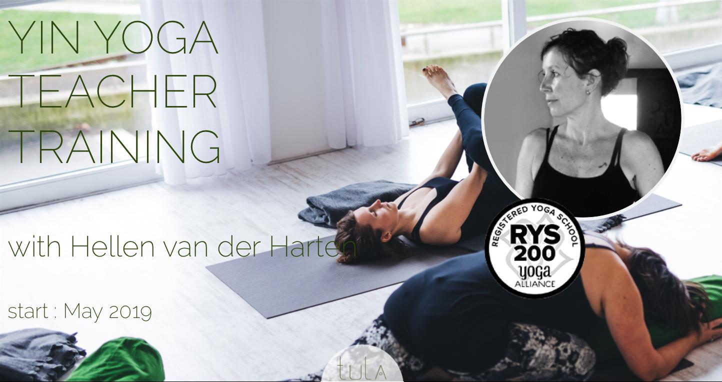 Hellen van der Harten - Yin Yoga docenten opleiding
