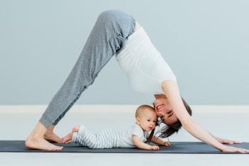 Yoga na je bevalling in Tula Ede